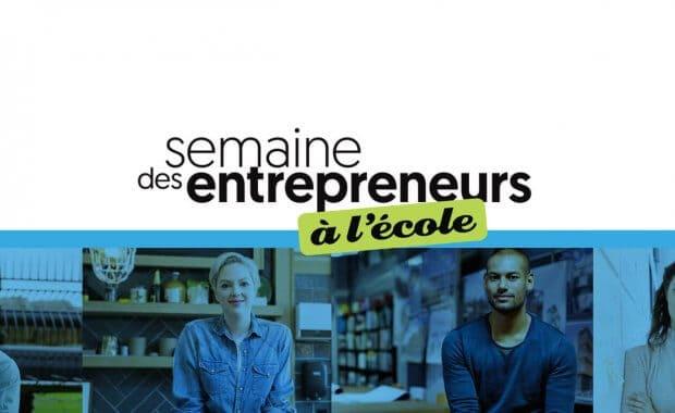 semaine des entrepreneurs à l'école
